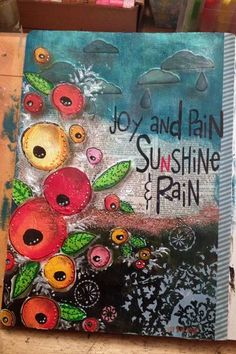 Joy and Pain | Gwen Lafleur: http://gwenyth.typepad.com/.a/6a00d8341ceb7653ef01901edd48a3970b-popup