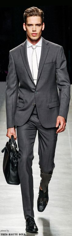 Bottega Veneta Spring 2014 Men www.style.com/