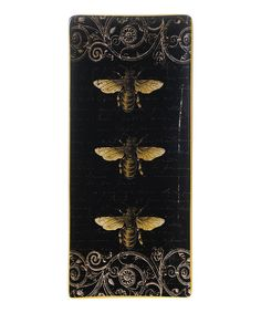 Look at this Bees Rectangular Tray - Set of Two on #zulily today!