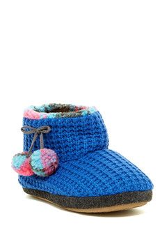 Toasty Warm Woven Booties - Sponsored by Nordstrom Rack.