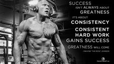 Dwayne Johnson, The Rock, WWE, WWF, Wrestling, Professional Wrestling, Fitness, Hard Work, Consistency, Bodybuilding, Strength, Weightlifting, Gains, Greatness, Success, Motivation, Encouragement, Patience, Dedication,