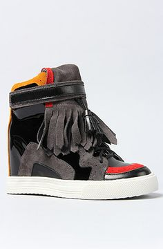 Jeffrey Campbell The Topeka Sneaker - Lyst Shoes Wedges Boots 63ad7e88d