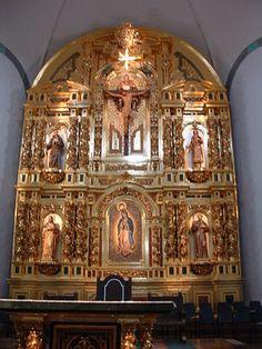 Sera Chapel at Mission San Juan Capistrano dream venue. So meaningful and full of wonderful symbolism. <3