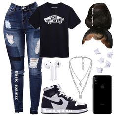 Baddie Outfits Casual, Swag Outfits For Girls, Teenage Girl Outfits, Cute Swag Outfits, Teenager Outfits, Trendy Outfits, Casual Teen Fashion, Girls Fashion Clothes, Teen Fashion Outfits