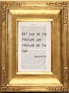 Oath of Hippocrates Quotes Aphorisms Doctor Gift by SKConcepts, $8.95