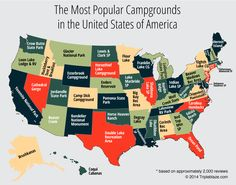 Best Campgrounds in the USA | Find the Most Popular Places to Camp || Tripleblaze.com Camping & Hiking