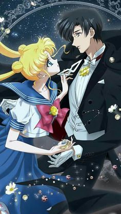 Image shared by Dafni Rodrigo. Find images and videos about love, couple and anime on We Heart It - the app to get lost in what you love. Sailor Moons, Sailor Moon Manga, Sailor Moon Crystal, Arte Sailor Moon, Sailor Uranus, Sailor Moon Background, Sailor Moon Wallpaper, Sailor Scouts, Disney Marvel