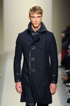 Double breasted pea coats aren't too versatile, but look great. Personally I like the popped collar look too.