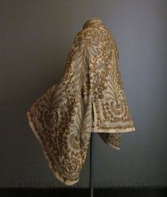 Dolman, cashmere, silk braid and metallic thread c.1870   Helen Larson Historic Fashion Collection
