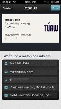 Five #Apps For #Business Card Scanning