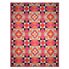 Karpas Rug 5x8 Pink, $229, now featured on Fab.
