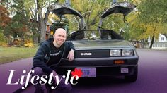 DeLorean owner excited for Back to the Future anniversary