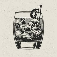 Illustrator Creates Static Animations For Exclusive Cocktail Recipes Launch - DesignTAXI.com