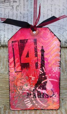 Borsmustár: Ajándékkártyák made by Rucola Designs/Ildi Geist Minion, Stencils, Journal, Christmas Ornaments, Tags, Holiday Decor, Design, Home Decor, Decoration Home