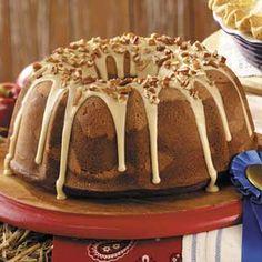 Butterscotch Swirl Cake - Prize winning recipe
