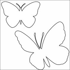 Classroom Display Boards, Classroom Displays, Felt Crafts, Diy And Crafts, Butterfly Template, Art N Craft, Flower Applique, Egg Decorating, Presents