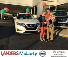 Congratulations Paul & Kelly on your #Nissan #Rogue from Weston Callahan at Landers McLarty Nissan !  https://deliverymaxx.com/DealerReviews.aspx?DealerCode=RKUY  #LandersMcLartyNissan