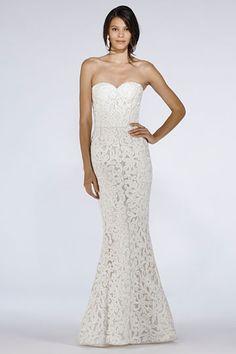 Oscar de la Renta Spring 2012 Bridal Show - grr.. yet another strapless but lovely gown..