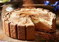 Tim Tam cheesecake