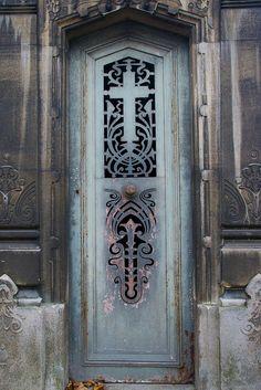 Tomb Door , Pere Lachaise Cemetery Paris