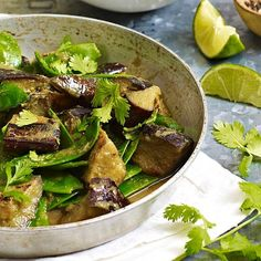Aubergine Thai jungle curry