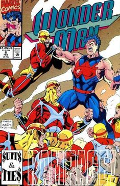 Wonder Man Comic Issue 6 Modern Age First Print Jones Johnson Harps Brosseau Book Cover Art, Comic Book Covers, Comic Books, Marvel Comics Art, Marvel Avengers, Wonder Man, Classic Comics, Comic Page, Illustrations And Posters
