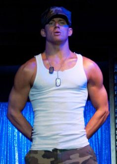 Channing Tatum - Magic Mike. I could watch him dance all day long Mmm