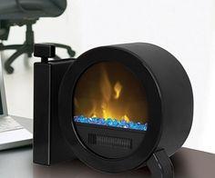 cool invention 2014 | desktop fireplace