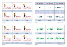 Un jeu de conjugaison pour apprendre et mémoriser la conjugaison à l'imparfait des verbes être, avoir et aller. Cycle 3, Bicycle Quotes, Weight Loss, Memories, Teaching, Education, School, Life, Montessori