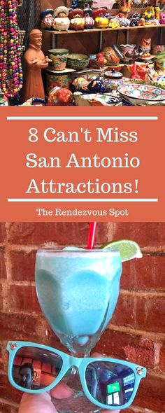 Must Do's in San Antonio 8 Must Do's in San Antonio - The Rendezvous Spot. Find out what top attractions can't be missed in San Must Do's in San Antonio - The Rendezvous Spot. Find out what top attractions can't be missed in San Antonio! Texas Vacations, Texas Roadtrip, Texas Travel, Best Vacations, Travel Usa, Travel Tips, Travel Ideas, Texas Getaways, Family Vacations