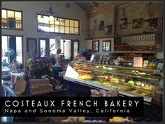 Costeaux French Bakery, Healdsburg, CA