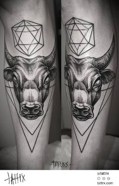 Alex Tabuns - Bull | бык | tattrx