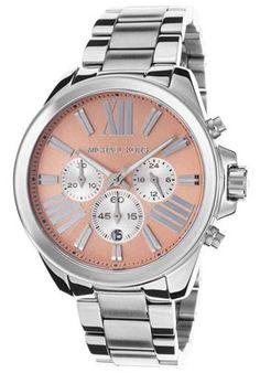 WOMENS MICHAEL KORS (MK5837) WREN STAINLESS STEEL SILVER WATCH - http://menswomenswatches.com/womens-michael-kors-mk5837-wren-stainless-steel-silver-watch/ COMMENT.