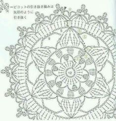 grafico de mandala a crochet 2
