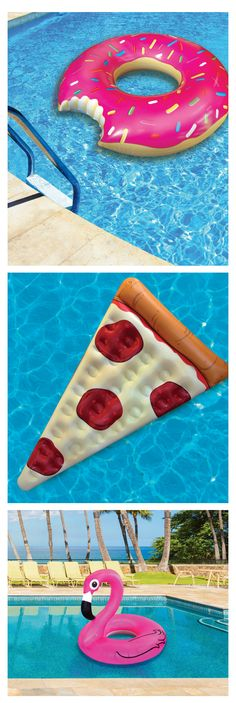 Funny floaties to lounge on this Summer