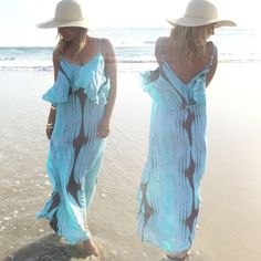 Harbor Blue Maxi Dress