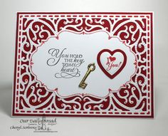 Key To My Heart by CherylQuilts - Cards and Paper Crafts at Splitcoaststampers