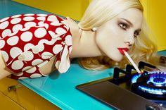 Home Works #3, first published in Vogue Italia, May 2008 - Miles Aldridge