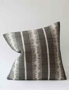 Tapiz Cushion - Kohl Reverse