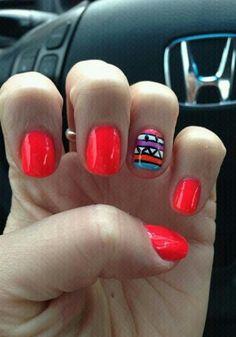 #nails #redcolor #diseño