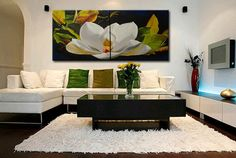 Hey, I found this really awesome Etsy listing at https://www.etsy.com/listing/399565285/magnolia-oil-painting