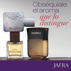 Obséquiale el aroma que lo distingue #JAFRA #FRAGANCIAS http://www.myjafra.com/jafra4uskin