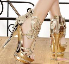 2013 Lame Üzeri İşlemeli Abiye Ayakkabı Modeli