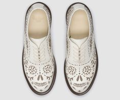 Dr. Martens Skull Shoes. Yes please.
