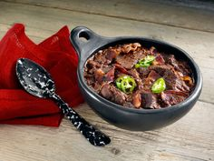 This Chipotle Bacon Chili recipe will help create sweet moments.
