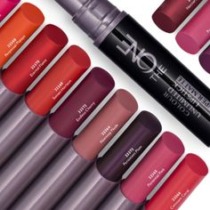 This gorgeous slim stick of saturated colour applies with high coverage and precision for a crisp, ultra-matte finish with longwear performance. Makeup Brush Hacks, Makeup Brushes, Makeup Tips, Oriflame Beauty Products, Beauty Companies, Beauty Kit, Saturated Color, About Hair, Matte Lipstick