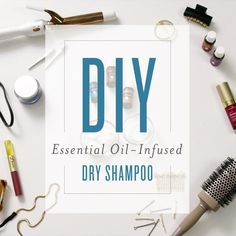 https://youngliving.com/en_US Learn how to make dry shampoo with this easy DIY project! Made with household ingredients and essential oils, you can skip a tr...