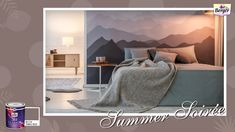 It's summer and why not bring the mountains into your home with a touch of the paintbrush? Pick from our range of #SilkGlamor greys and create your own cosy mountainous nook in the heart of the city! Show us if you have spruced up your home this summers with #SilkGlamorSummerSoiree! #BergerPaints #PaintYourImagination