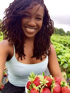 5.21.2016. Gratitude: I went strawberry picking today.