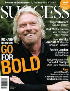 """""""A person who never made a mistake never tried anything new. Please visit our home page for more SUCCESS OR Success Magazine, Party Organization, Richard Branson, What It Takes, Want You, Helping Others, Bad Boys, Inspire Me, Einstein"""